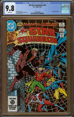 All-Star Squadron #24 CGC 9.8