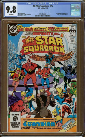 All-Star Squadron #25 CGC 9.8
