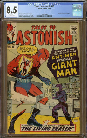 Tales to Astonish #49 CGC 8.5