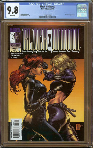 Black Widow #3 CGC 9.8