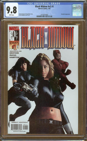 Black Widow v2 #1 CGC 9.8