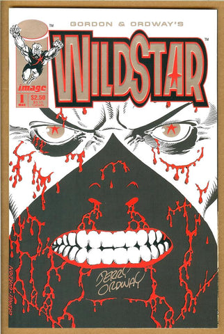 Wildstar #1 NM- SIGNED