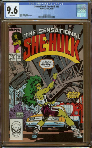 Sensational She-Hulk #10 CGC 9.6