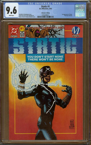 Static #1 Collector's Edition CGC 9.6