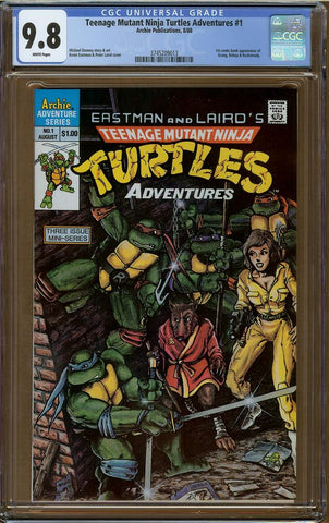 Teenage Mutant Ninja Turtles Adventures #1 CGC 9.8