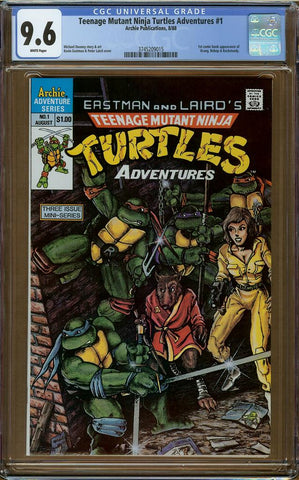 Teenage Mutant Ninja Turtles Adventures #1 CGC 9.6