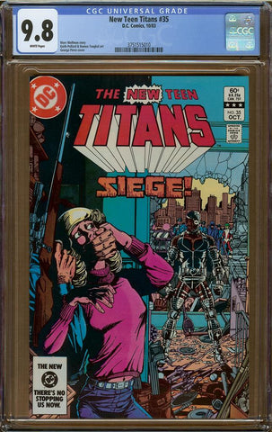New Teen Titans #35 CGC 9.8