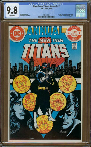 New Teen Titans Annual #2 CGC 9.8
