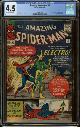 Amazing Spider-Man #09 CGC 4.5