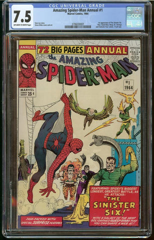 Amazing Spider-Man Annual #1 CGC 7.5
