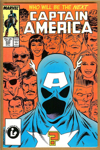 Captain America #333 VF 1st John Walker as Captain America