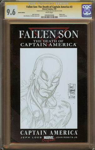 Arvell Malcom Jones- Iron Fist Sketch Cover