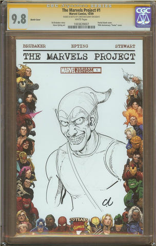 Christian Almay- Green Goblin Sketch Cover