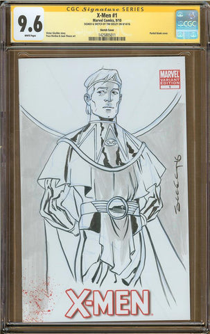 Tim Seeley- Ozymandias Sketch Cover