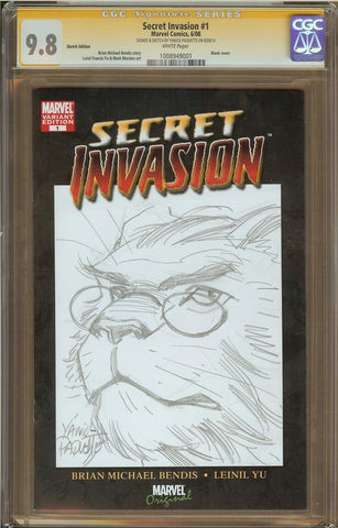 Yanick Paquette- Beast Sketch Cover
