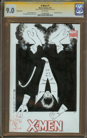 Mike McKenna- Nightcrawler Sketch Cover