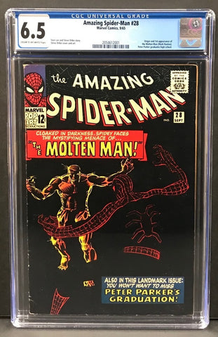Amazing Spider-Man #028 CGC 6.5