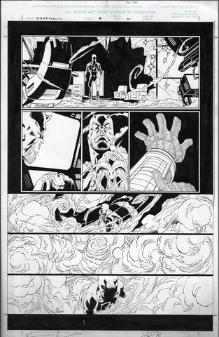 Daredevil v2 #6 p.21 Original Art Page