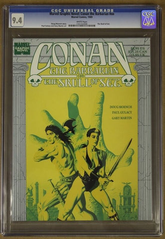 Marvel Graphic Novel: Conan the Barbarian #nn CGC 9.4