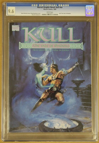 Marvel Graphic Novel: Kull #nn CGC 9.6