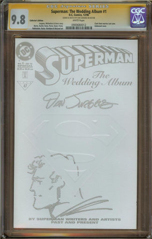 Superman: The Wedding Album #1 Collector's Edition CGC 9.8