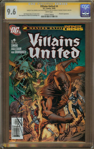 Villians United #4 CGC 9.6