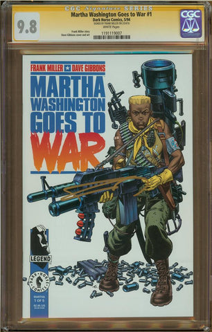Martha Washington Goes to War #1 CGC 9.8