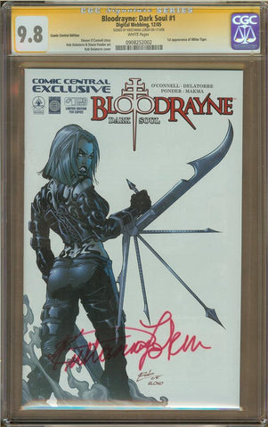 Bloodrayne: Dark Soul omic Central Edition CGC 9.8