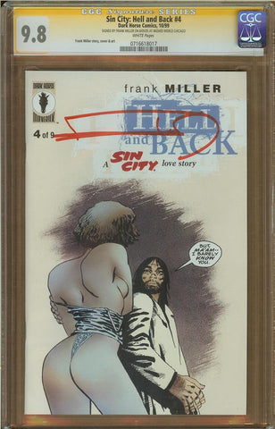 Sin City: Hell and Back #4 CGC 9.8