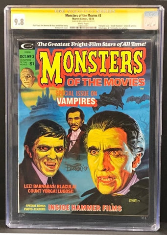 Monsters of the Movies #3 CGC 9.8