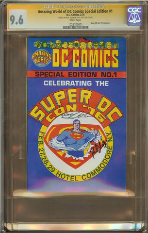 Amazing World of DC Comics Special Editon #1 CGC 9.6