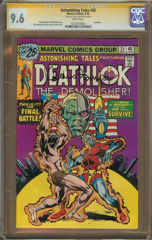 Astonishing Tales #35 CGC 9.6
