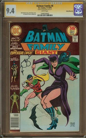 Batman Family #8 CGC 9.4 Rocky Mountain