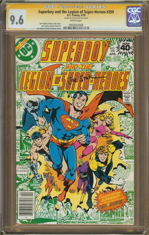 Superboy & The Legion of Super-Heroes #250 CGC 9.6