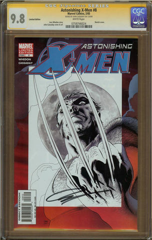 Astonishing X-Men #8 Limited Edition CGC 9.8