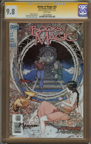 Books of Magic #62 CGC 9.8