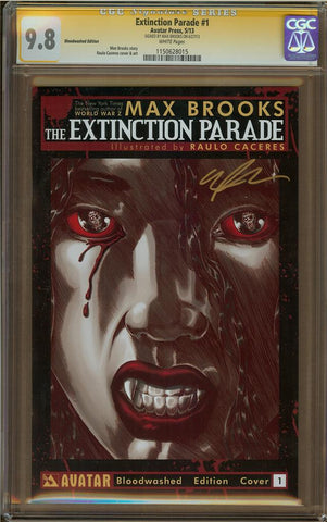 Extinction Parade #1 Bloodwashed Edition CGC 9.8