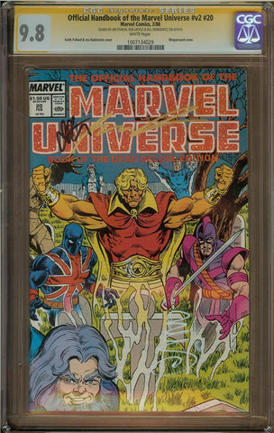 Official Handbook of the Marvel Universe v2 #20 CGC 9.8