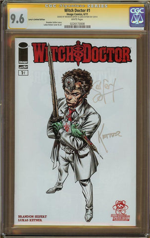 Witch Doctor #1 Larry's Limited Edition CGC 9.6