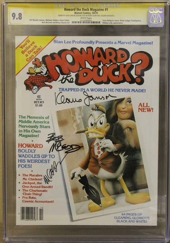 Howard the Duck Magazine #1 CGC 9.8