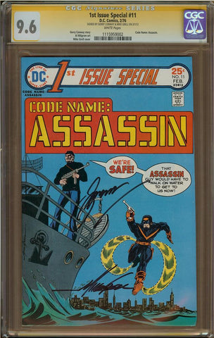1st Issue Special #11 CGC 9.6