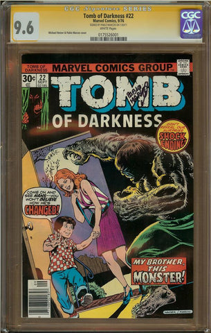 Tomb of Darkness #22 CGC 9.6