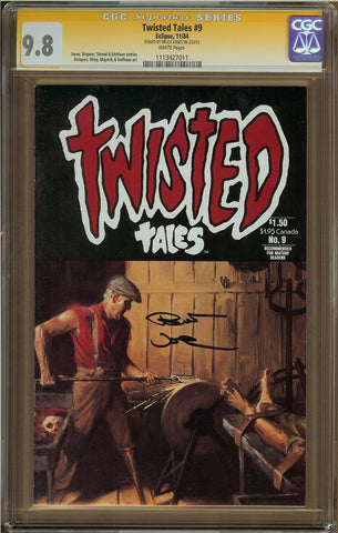 Twisted Tales #9 CGC 9.8