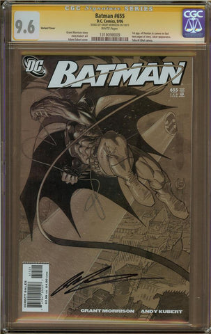 Batman #655 Variant Cover CGC 9.6