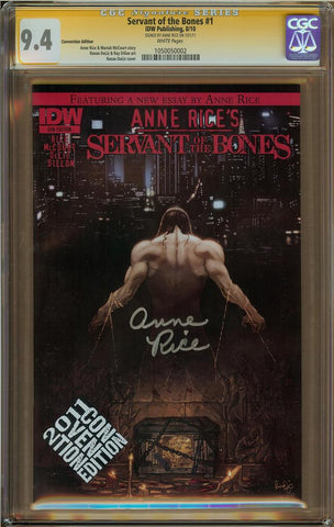 Servant of the Bones #1 CGC 9.4