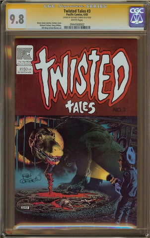 Twisted Tales #3 CGC 9.8