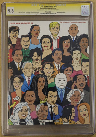 Love and Rockets #50 CGC 9.6