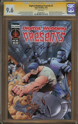 Digital Webbing Presents #5 CGC 9.6