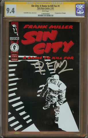 Sin City: A Dame To Kill For #1 CGC 9.4