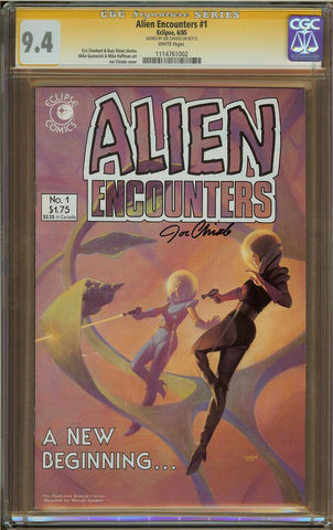 Alien Encounters #1 CGC 9.4